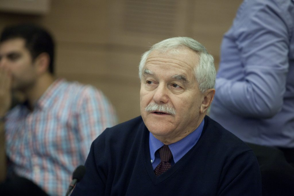 Yair Shamir, newly appointed chairman of Israel Aerospace Industries (IAI). (Flash90)