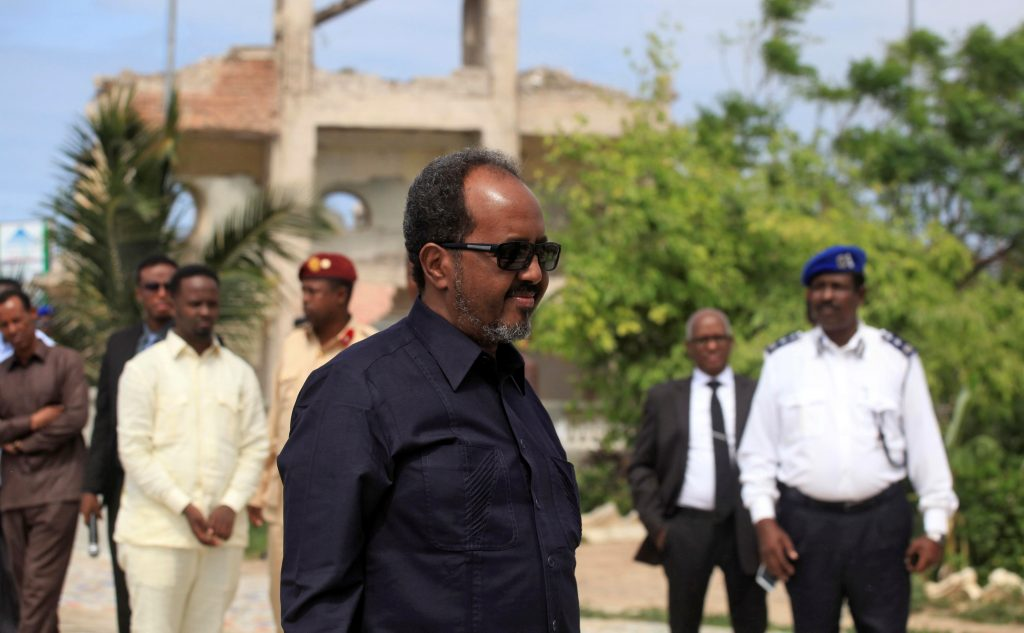 Somalia's President Hassan Sheikh Mohamud. (Reuters/Ismail Taxta)