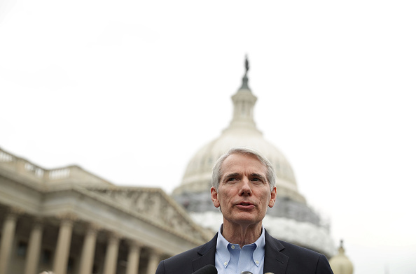 U.S. Sen. Rob Portman (R-Ohio) seen on Capitol Hill. (Alex Wong/Getty Images)