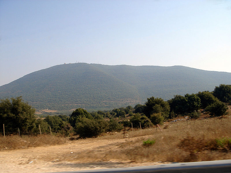 The northern slope of Mount Meron. (Lior Golgher)
