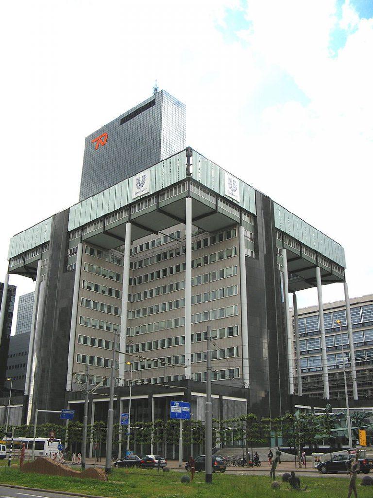 The Unilever Head Office, Rotterdam. (Marcel Douwe Dekker)