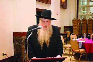 """Harav Yaakov Zelinger, Zt""""l (Photo Courtesy of Mostofsky family)"""