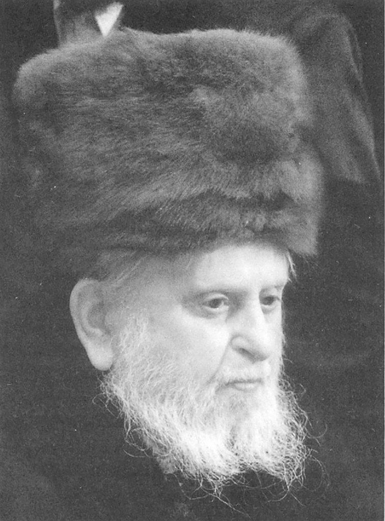 """The Bohusher Rebbe, zt""""l"""
