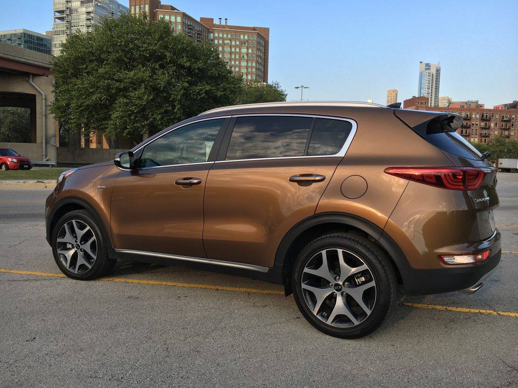 2017 Kia Sportage In Sx Turbo Trim With Awd Steps Out Of The Crowded Compact Crossover
