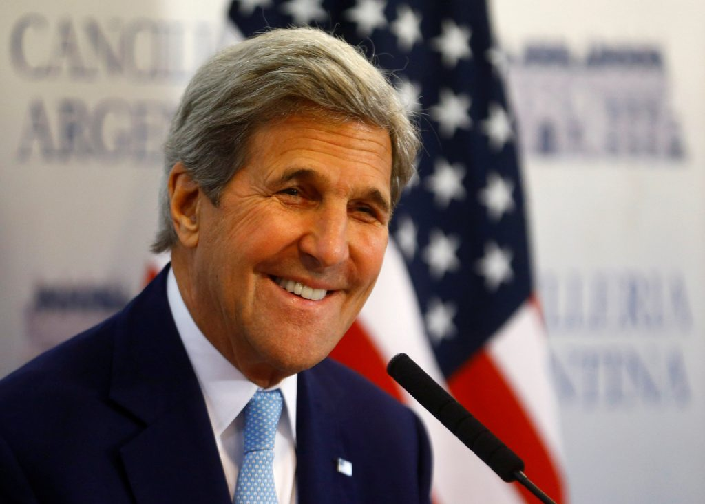 U.S. Secretary of State John Kerry. (Enrique Marcarian/Reuters)