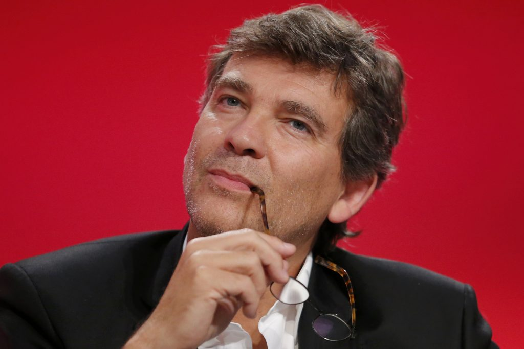 "Arnaud Montebourg, shwon here attending the Socialist Party's ""Universite d'ete"" summer meeting in La Rochelle, France, in 2014. (Reuters/Stephane Mahe/File Photo)"