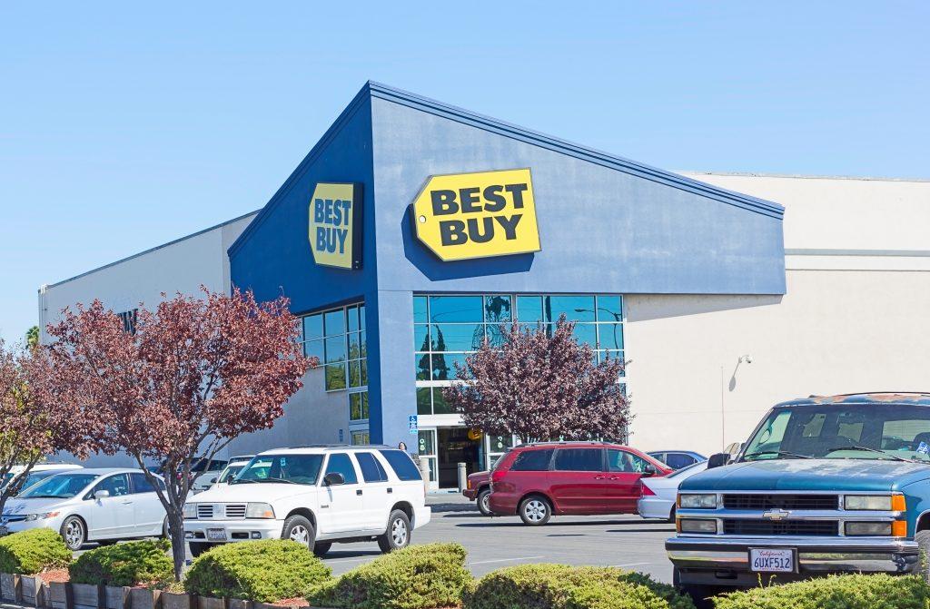 A Best Buy store  in Sacramento, California.