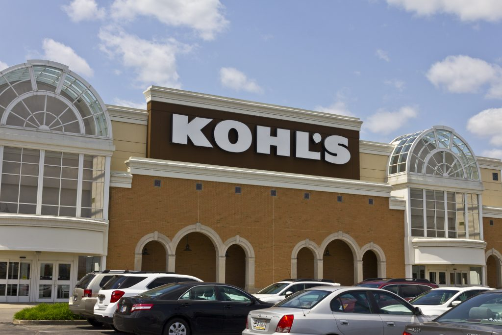 A Kohl's store in Indianapolis.