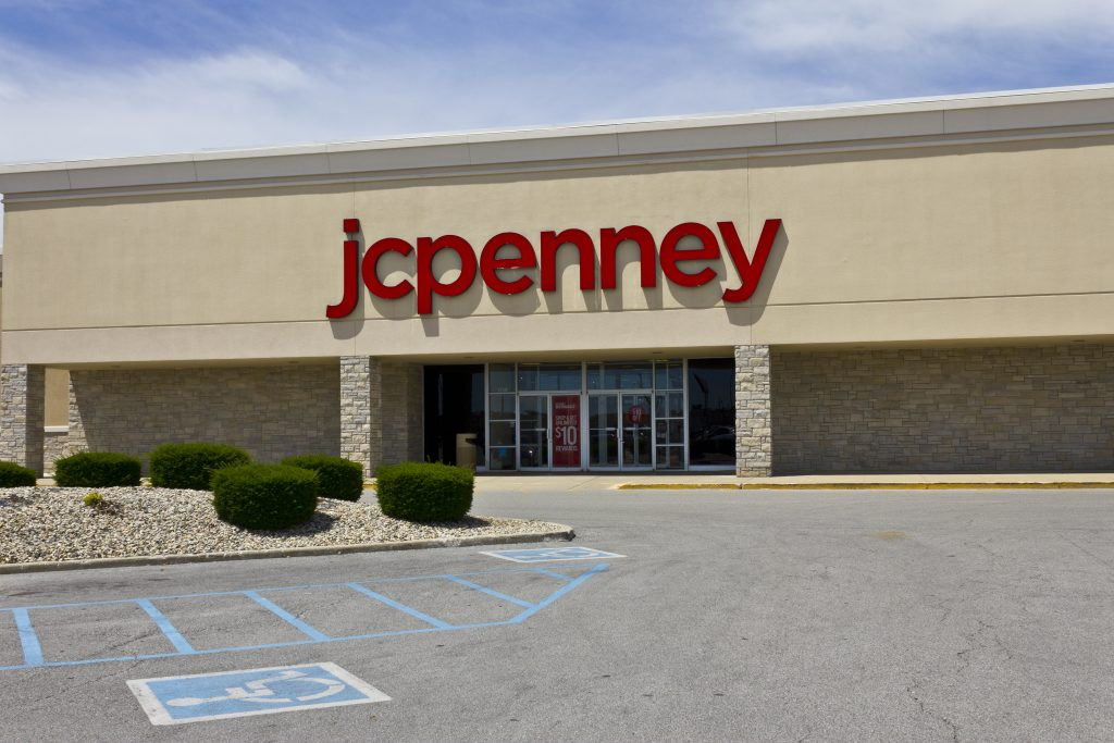 A JC Penney store in Indianapolis.