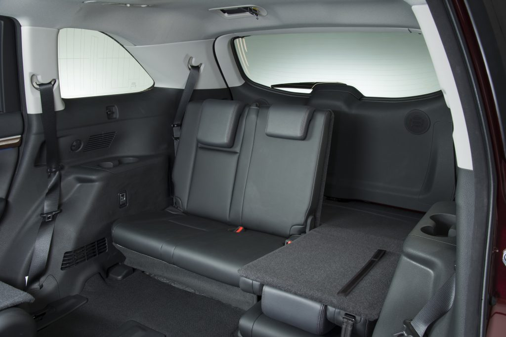 The 2016 Toyota the Highlander Hybrid offers generous space for up to seven passengers with wide, soft comfortable seats. (Toyota)