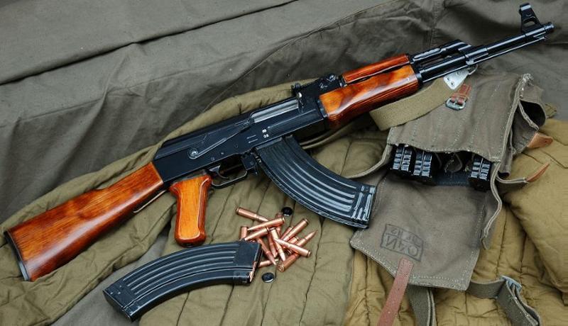 The AK-47, or Kalashnikov. (Valio-Subaru)