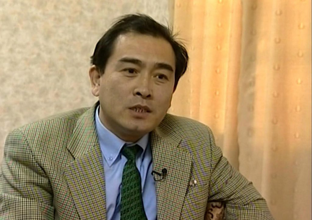 This is an image taken from video taken on April 5, 2004 of Thae Yong Ho, North Korean diplomat speaking during an interview in Pyongyang. North Korea diplomat Thae Yong Ho who was based in London has defected, according to South Korean officials. Seoul's Unification Ministry announced on Wednesday Aug. 17, 2016 that Thae Yong Ho, minister at the North Korean Embassy in the UK capital, recently defected to South Korea with his family. (AP Photo)