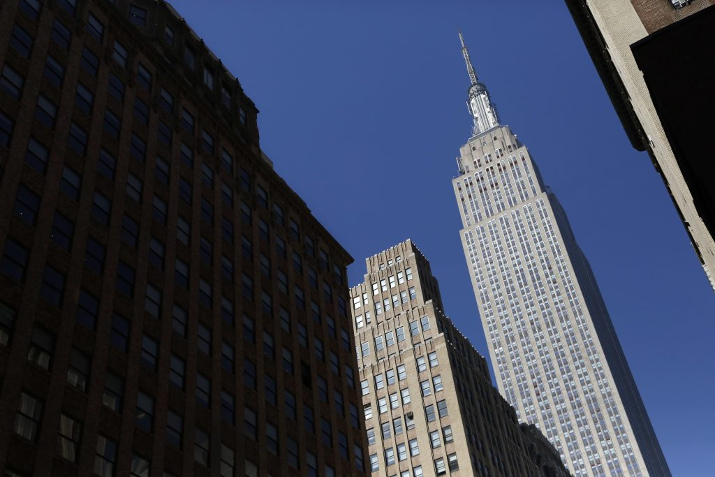 The Empire State Building (AP Photo/Mark Lennihan, File)