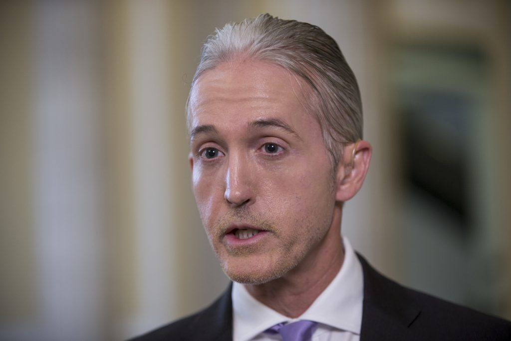 Rep. Trey Gowdy (AP Photo/J. Scott Applewhite)