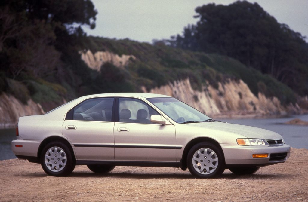 In 2015 This 1996 Honda Accord 5th Generation Would Be A Prime Target For Thieves