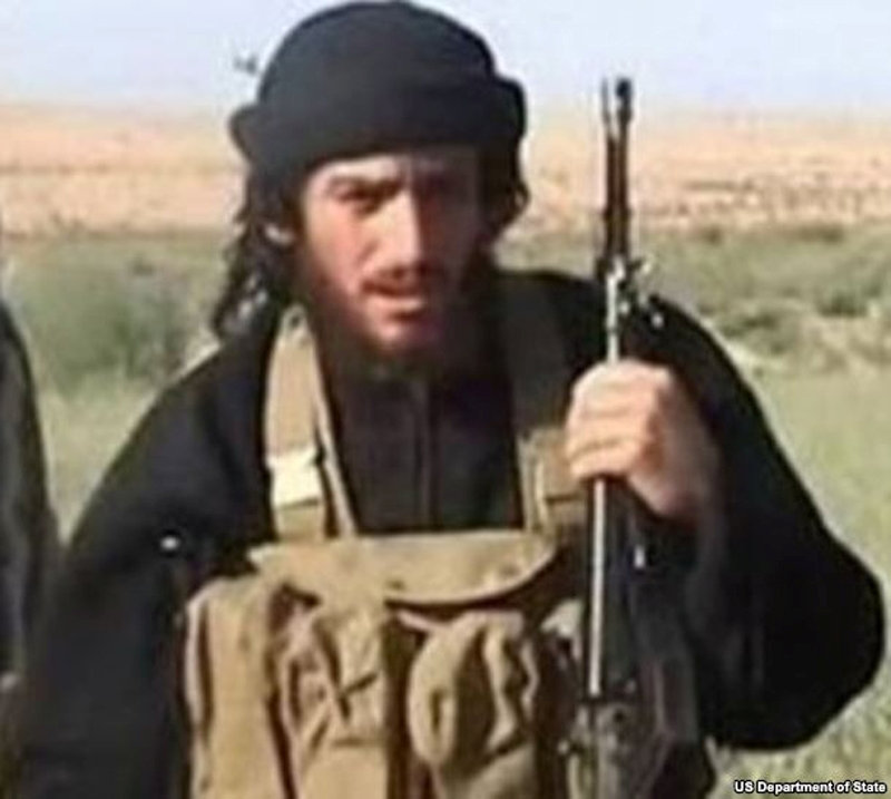 IS spokesman and head of external operations Abu Muhammad al-Adnani is pictured in this undated handout photo, courtesy the U.S. Department of State. U.S. Department of State/Handout via REUTERS ATTENTION EDITORS - THIS IMAGE WAS PROVIDED BY A THIRD PARTY. EDITORIAL USE ONLY TPX IMAGES OF THE DAY