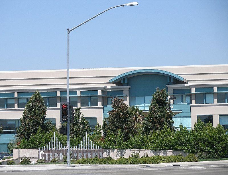 the Cisco Systems campus in San Jose, California. (Coolcaesar)
