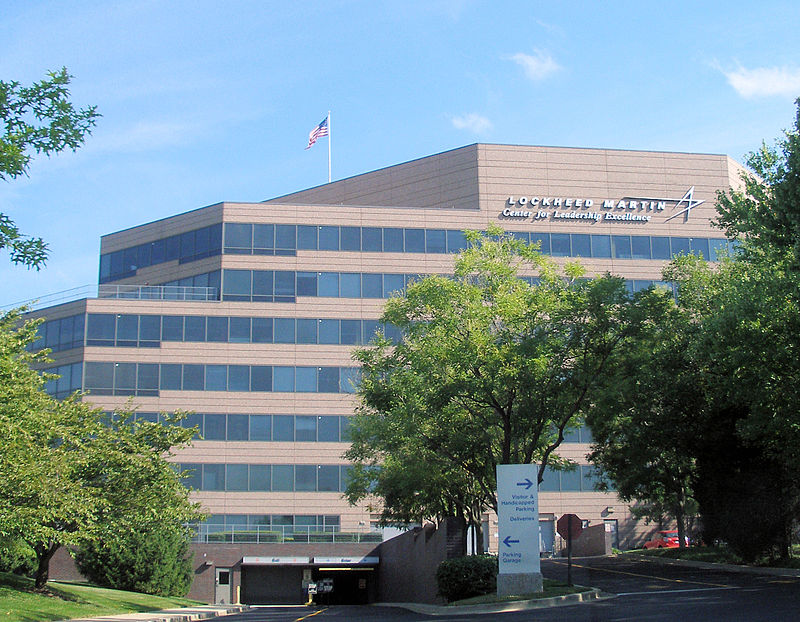 Lockheed Martin's Center For Leadership Excellence (CLE) Building in Bethesda, Maryland. (Coolcaesar)
