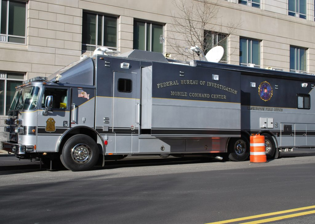 A FBI Mobile Command Center in Washington DC. (FBI via Wikimedia Commons)