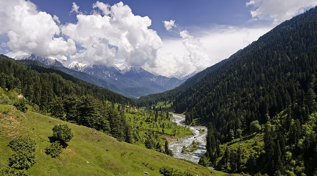 The Pahalgam Valley, Kashmir. (KennyOMG)