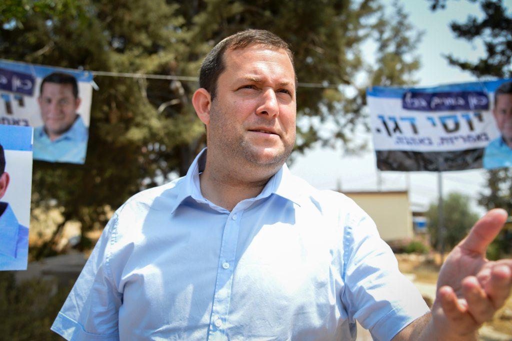 Shomron Regional Council head Yossi Dagan's outreach to European diplomats is paying off. (Flash90)