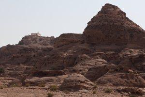 A view of Kever Aharon on Jabal Harun, or Aaron's Mountain, near Petra in Jordan. (Yaakov Naumi/Flash90)