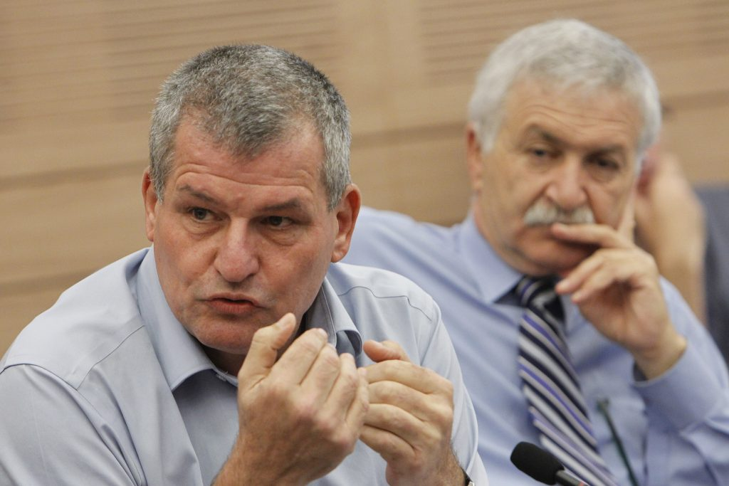 """Zionist Camp MK Miki Rosenthal, sponsor of the new """"Spam Law."""" (Miriam Alster/Flash90)"""