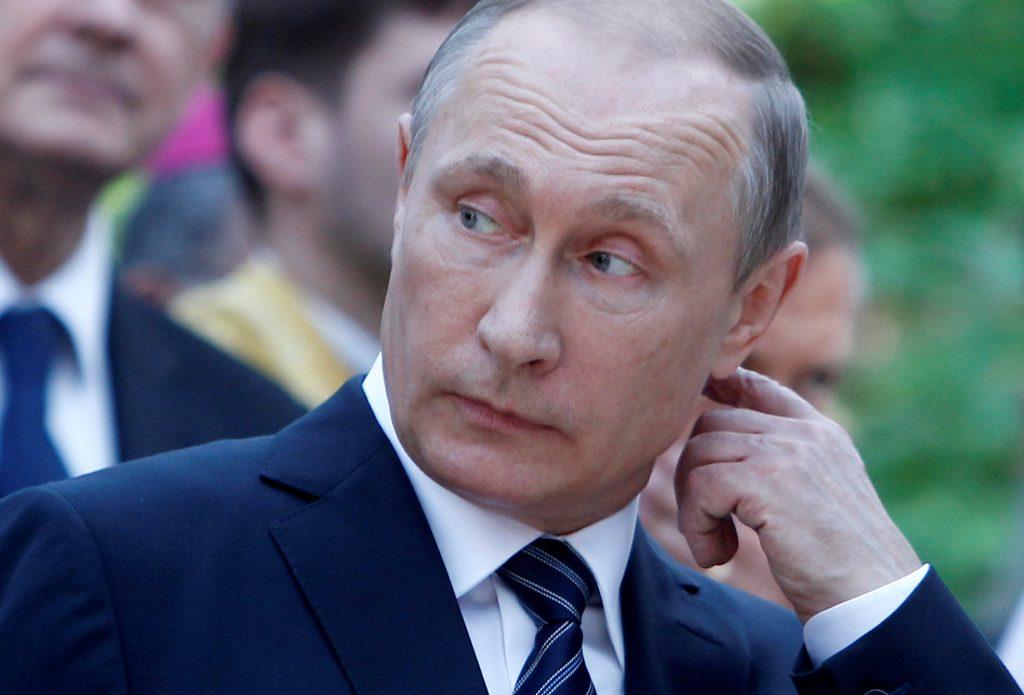 Russian President Vladimir Putin. (Srdjan Zivulovic/Reuters)