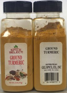 Spice Seelect is one of several companies whose ground turmeric powder has been recalled. (FDA)