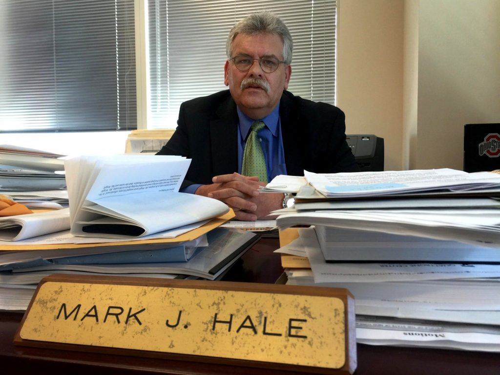 Mark Hale, chief of the Brooklyn district attorney's Conviction Integrity Unit. (Del Quentin Wilber/Los Angeles Times/TNS)