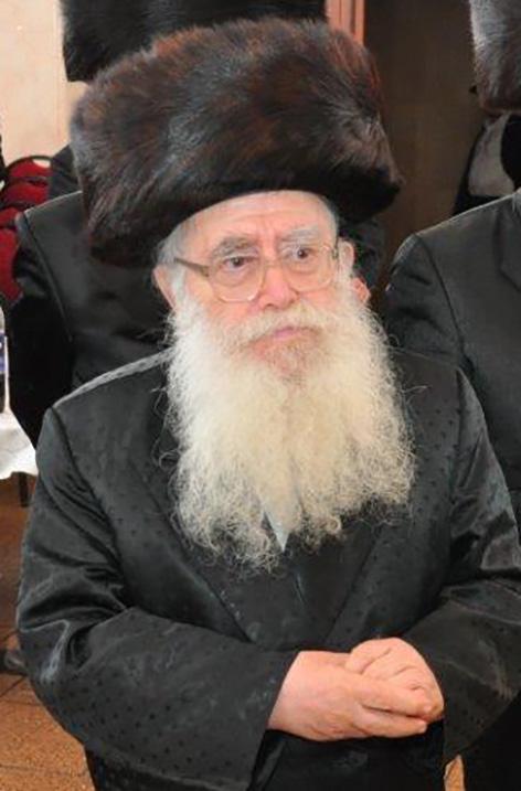 "Harav Direnfeld, zt""l. (Mordechai Zev Schwamenfeld)"