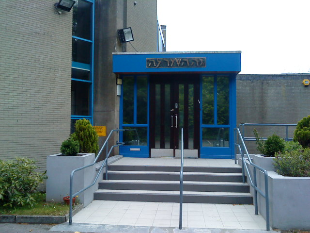 The exterior of the Belfast Jewish Community shul. (Belfast Jewish Community)