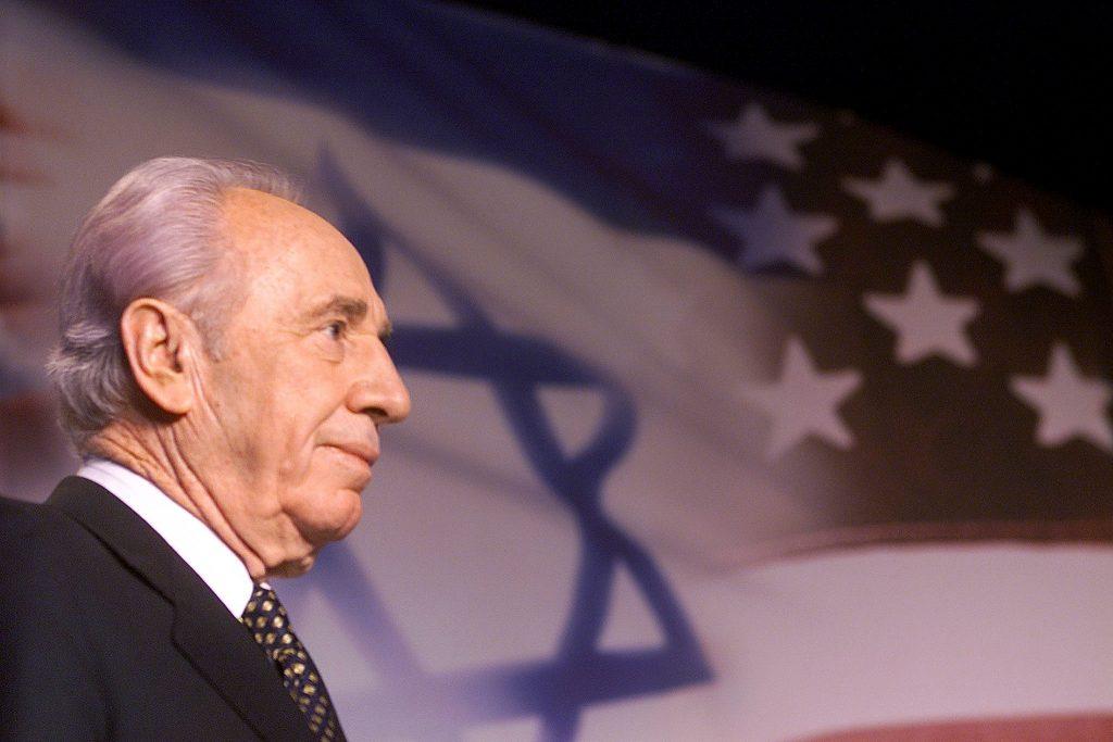 Shimon Peres. (Brendan McDermid/Reuters/Files)
