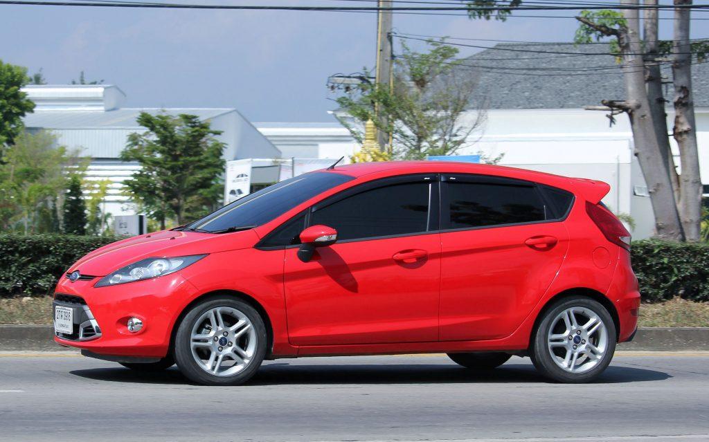 A Ford Fiesta.