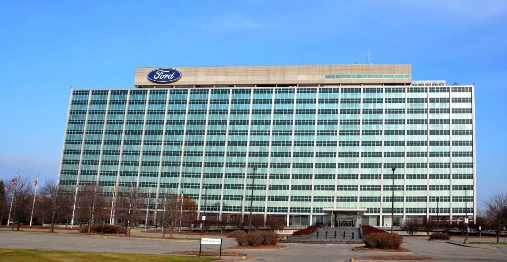 Ford headquarters in Dearborn, Michigan.