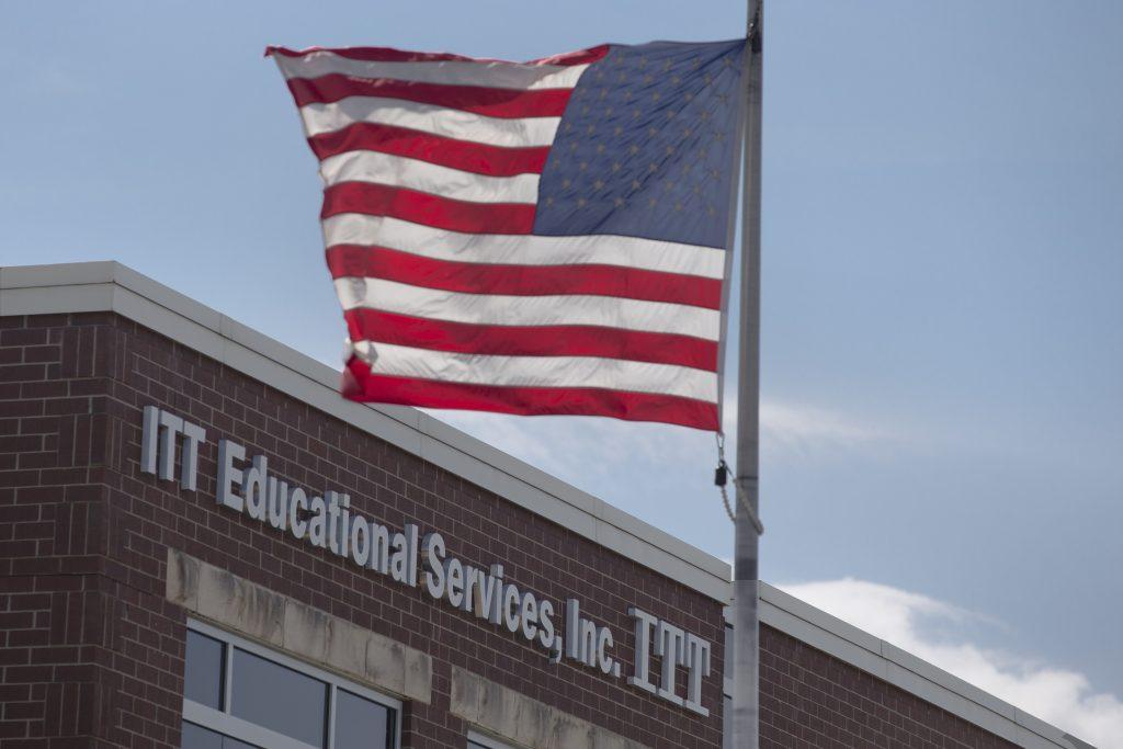 ITT Educational Services headquarters in Carmel, Ind. (AP Photo/Michael Conroy)