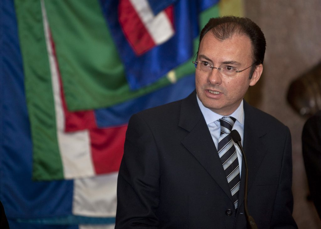 Mexican Treasury Minister Luis Videgaray (AP Photo/Christian Palma, File)