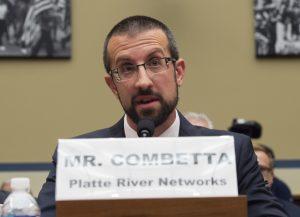 Paul Combetta asserts his 5th amendment right Tuesday. (AP Photo/Molly Riley)