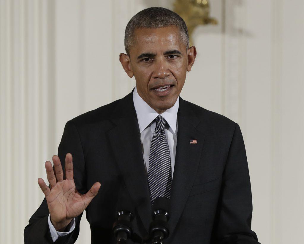 President Barack Obama speaks in the East Room of the White House in Washington. (AP Photo/Carolyn Kaster, File)