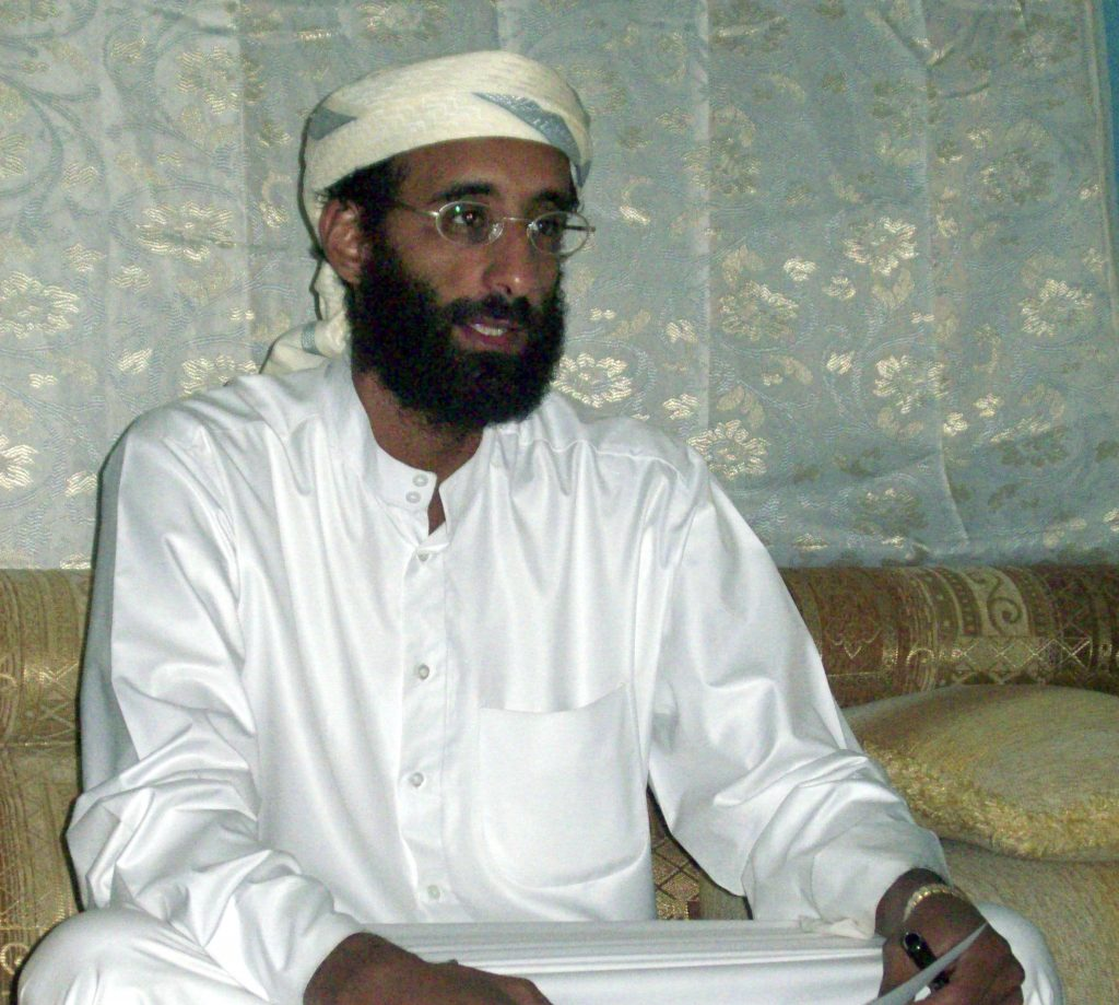 This October 2008, file photo shows Imam Anwar al-Awlaki in Yemen. (AP Photo/Muhammad ud-Deen, File)