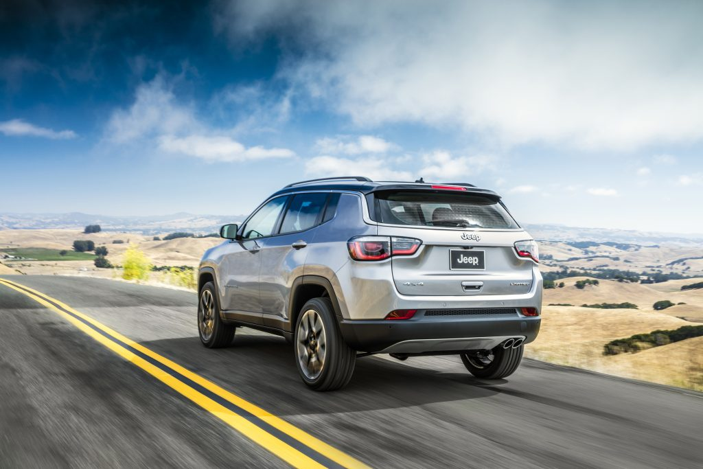 The redesigned Jeep Compass Limited SUV. (Fiat Chrysler Automobiles US LLC via AP)