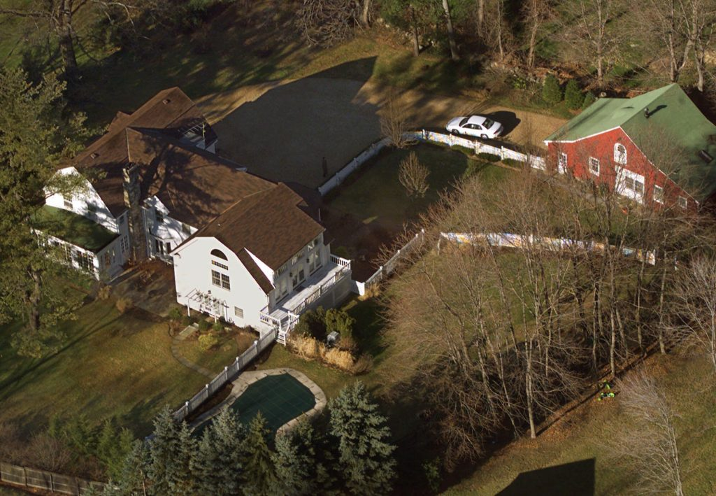 Hillary and Bill Clinton's home in Chappaqua, N.Y. (AP Photo/Kathy Willens, File)