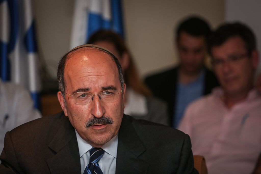 Israel's Foreign Ministry director-general Dore Gold (Hadas Parush/Flash90)