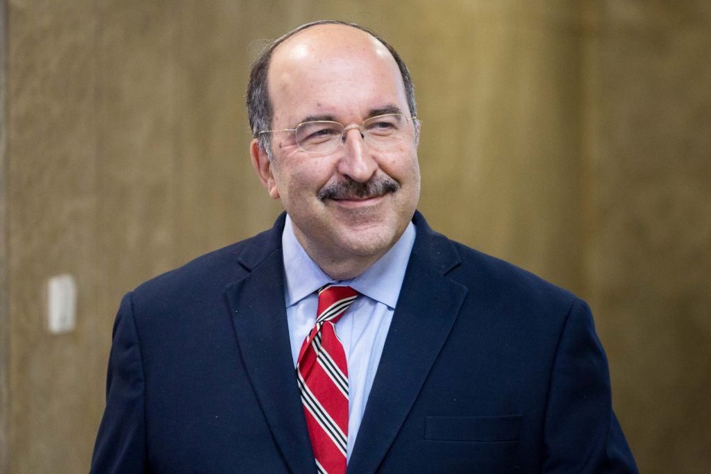 Director General of Israel's Foreign Ministry Dore Gold. (Emil Salman/POOL)