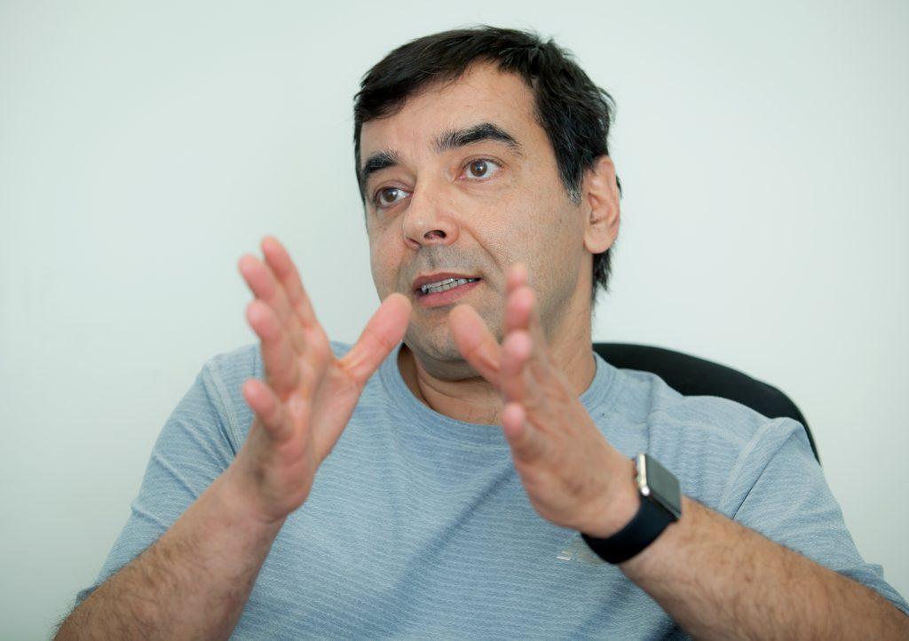 Amnon Shashua, CTO, co-founder and chairman of Mobileye. (Caption  Moshe Shai/Flash90)