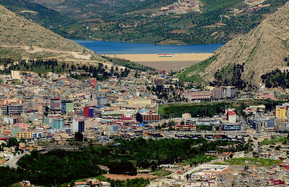 A view of the Kurdish city of Duhok. (Claus Weinberg)