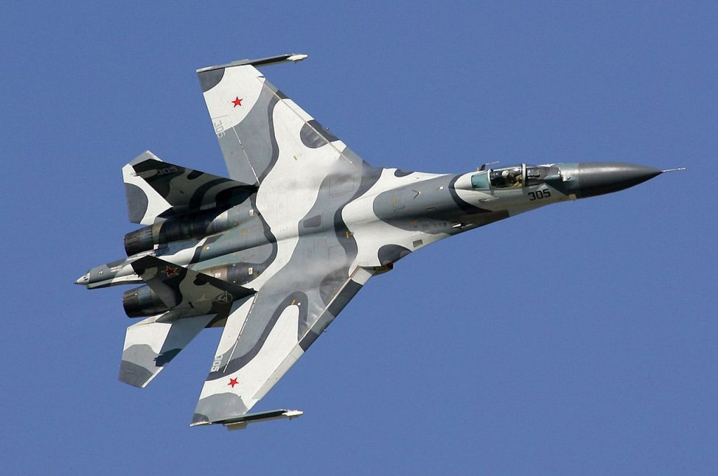 A Sukhoi Su-27 plane (Dmitriy Pichugin/www.airliners.net)