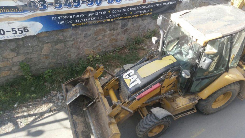 Roadwork in Uman. (Chadashot24)