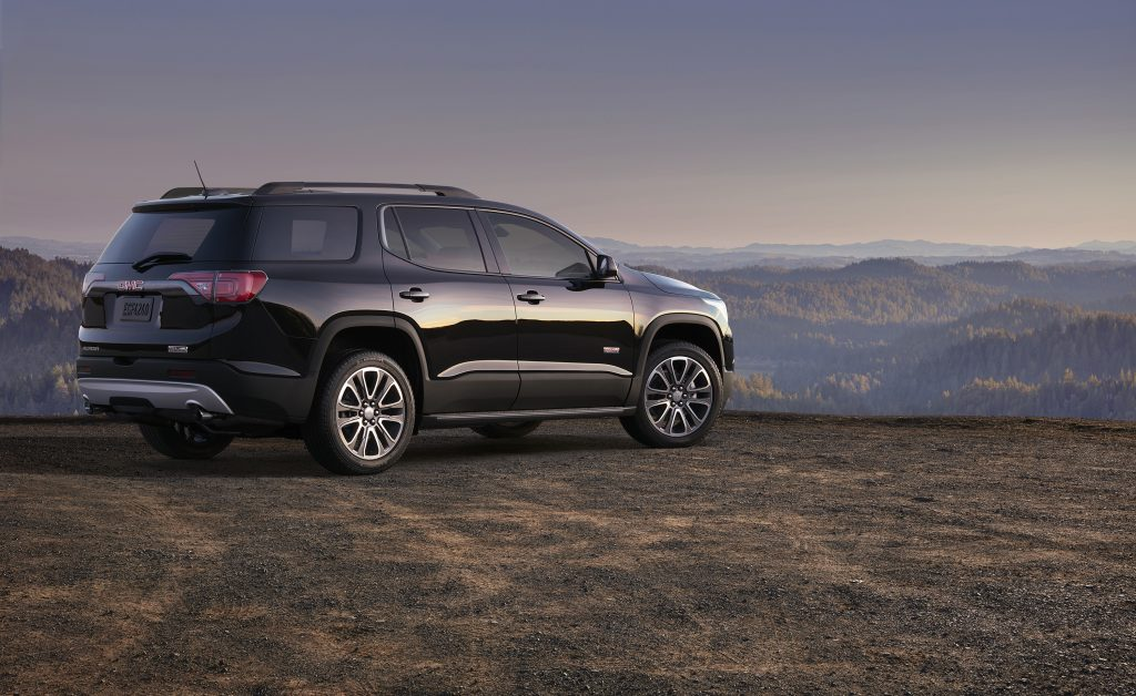 The 2017 GMC Acadia is powered by a 3.6-liter V-6 engine that makes 310 horsepower and 271 pound-feet of torque and is reported to go from zero to 60 miles per hour in 6.6 seconds and hit a top speed of 130 mph. (Jim Haefner/GMC)
