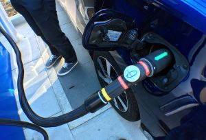 The Mirai is Toyota's latest zero-emissions vehicle using a hydrogen fuel cell to power an electric motor. Currently, there are about a dozen or so hydrogen fuel stations scattered throughout Southern California. (Myung J. Chun/Los Angeles Times/TNS)
